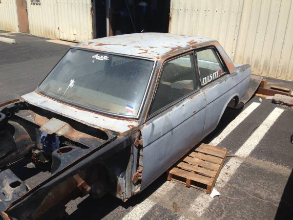 1969 Datsun 510 Parts Car Shell For Sale in Santa Maria ...