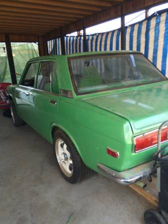 1972 Datsun 510 4 Door For Sale By Owner In Inland Empire California