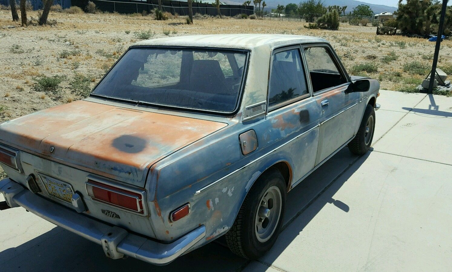 1972 Datsun 510 2 Door Sedan For Sale By Owner In Pinon Hills California