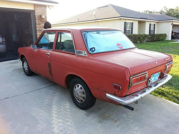 1972 datsun 510 2 door v4 for sale by owner in jacksonville florida. Black Bedroom Furniture Sets. Home Design Ideas