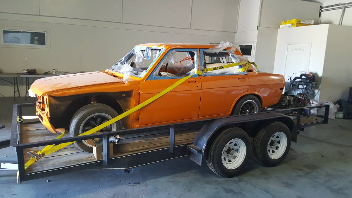 1972 Datsun 510 4 Door Rare Project For Sale By Owner In