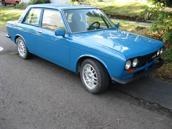 1970 datsun 510 two door for sale by owner in portland oregon. Black Bedroom Furniture Sets. Home Design Ideas