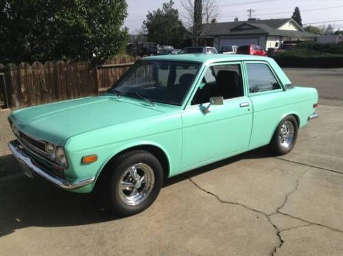 1971 datsun 510 two door sedan for sale by owner in redding
