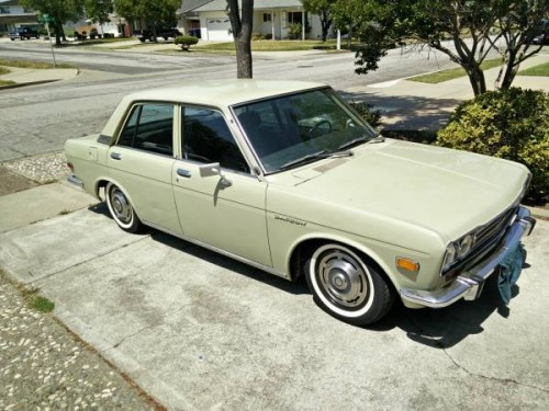 1972 Datsun 510 Four Door For Sale by Owner in Fremont ...