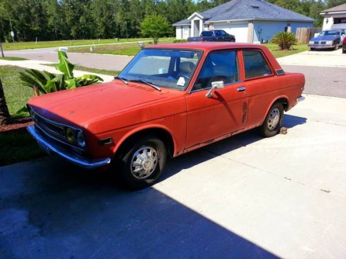 1972 Datsun 510 Two Door For Sale By Owner In Jacksonville