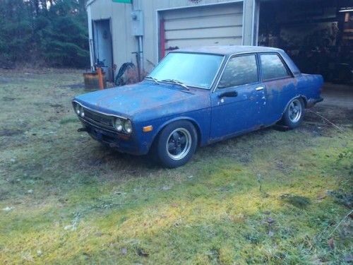 1971 datsun 510 parts car for sale by owner in olalla. Black Bedroom Furniture Sets. Home Design Ideas