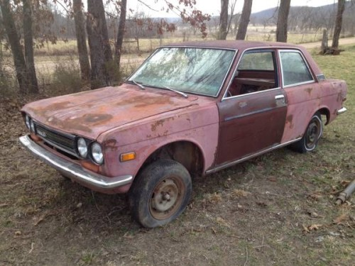 1972 datsun 510 parts car for sale by owner in tahlequah. Black Bedroom Furniture Sets. Home Design Ideas