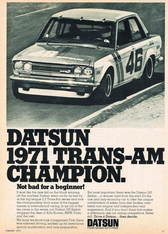 1971 Trans-Am Champion
