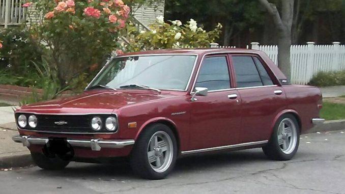 1971 Datsun 510 4 Door For Sale In San Jose California 8 500